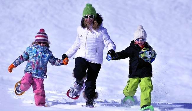 Childcare in Val D'isere - credit Philippe Royer