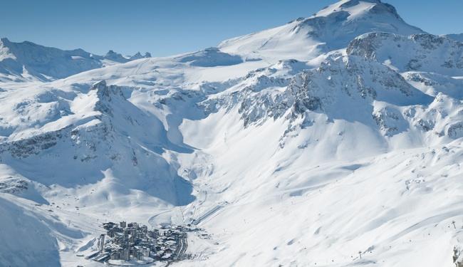Tignes Snow conditions - credit Andy Parant