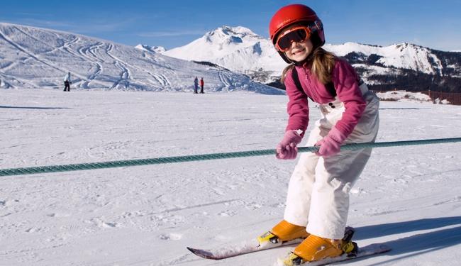 Childcare ski Morzine copyright Valerie Poret