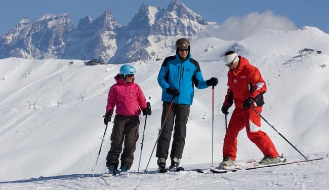 Learn to ski Morzine, copyright Matthieu Vitre