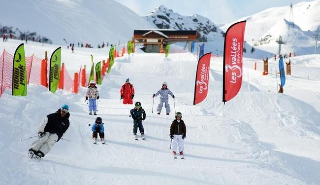 Meribel Moon Park - Copyright Ski Brides Le Bains