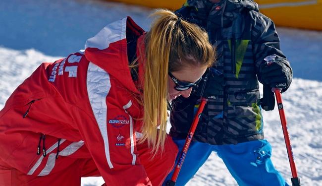 Ski childcare La Plagne credit P Royer
