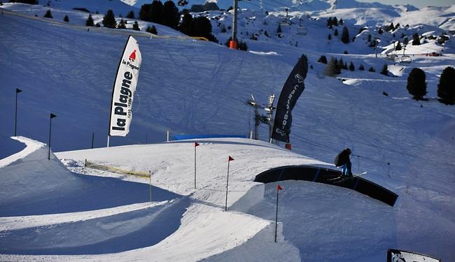 La Plagne Snowpark credit P Royer