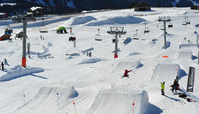 Avoriaz Snowpark credit OT Avoriaz