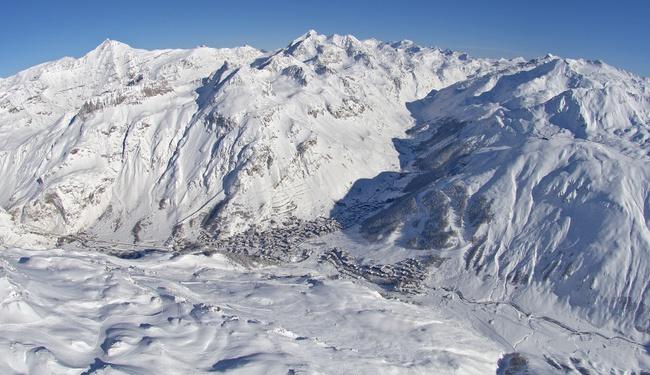 The ski Resort of Val d'Isere - Copyright Val d'Isere OT