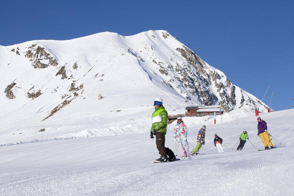 Ski group Les Arcs (c) SCALP - Les Arcs