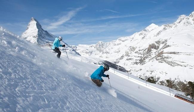 Zermatt Skiing - Copyright Marc Weiler