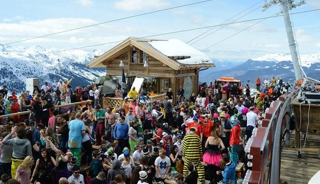 Meribel Apres Ski - Copyright La Folie Douce Meribel